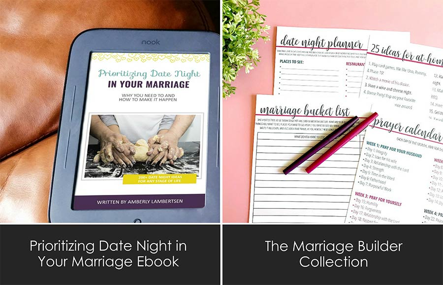 The Marriage Builders Collection by Intentional Moms
