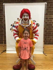 jpl program with Ronald McDonald