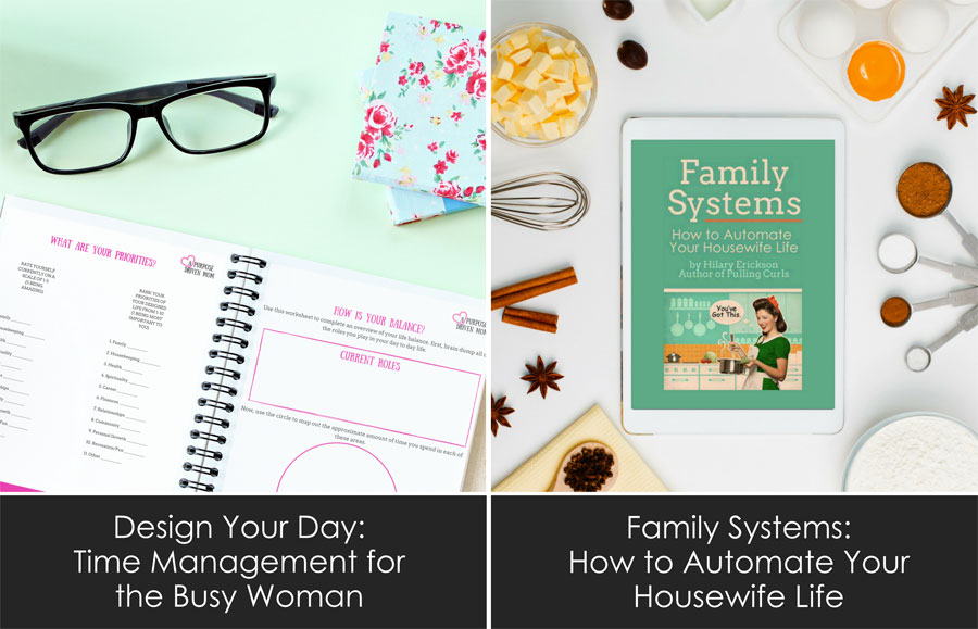 Family Systems: How to Automate Your Housewife Life by Pulling Curls