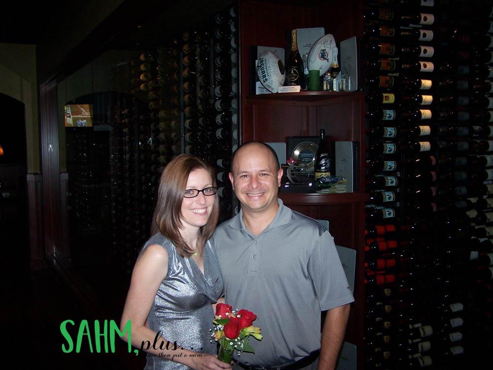 Ivy with husband on 3 year anniversary   sahmplus.com