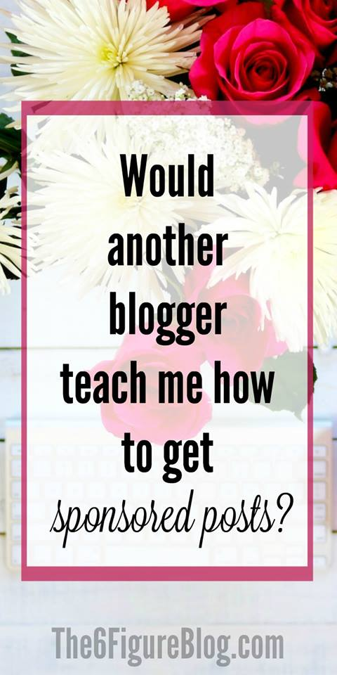 Will another blogger teach you how to make money blogging? Absolutely!