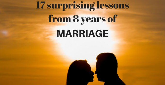 What marriage has taught me in 8 years. I'd hoped to write this up for my anniversary, but life happened. So, I'm sharing the lessons I've learned in 8 years of marriage now, because Thanksgiving week seemed an appropriate alternative. | www.sahmplus.com