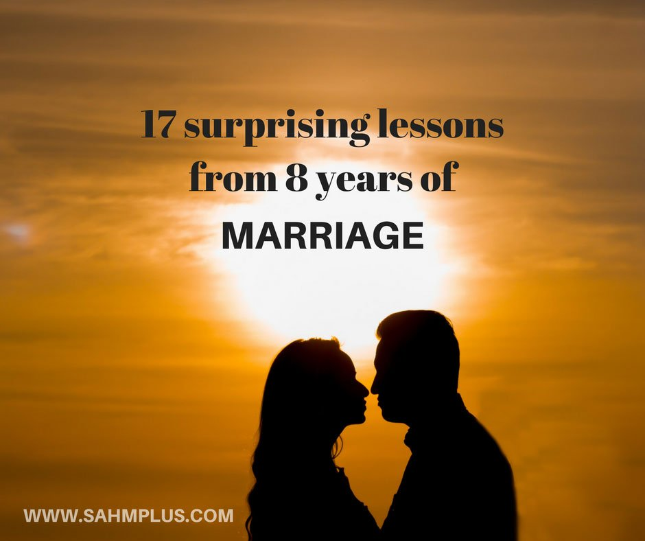 What marriage has taught me about love and relationships in 8 years