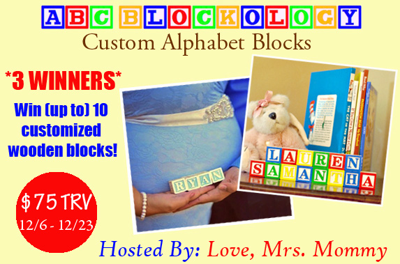 ABCBlockology giveaway
