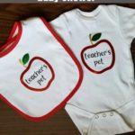 Baby gift for a teacher going on maternity leave or teacher's baby shower. How to create a custom baby gift for a teacher   www.sahmplus.com