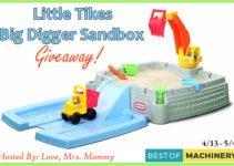 Little Tikes Big Digger Sandbox Giveaway image