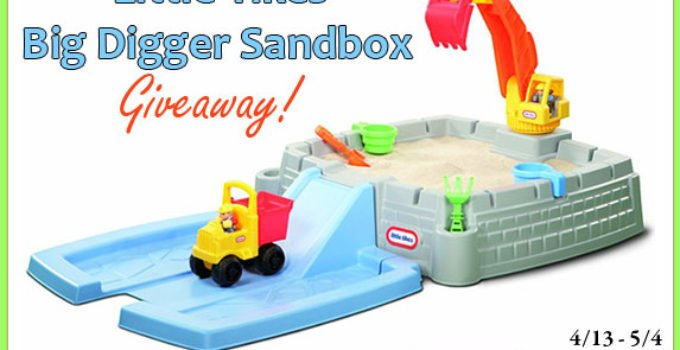 Little Tikes Big Digger Sandbox Giveaway image