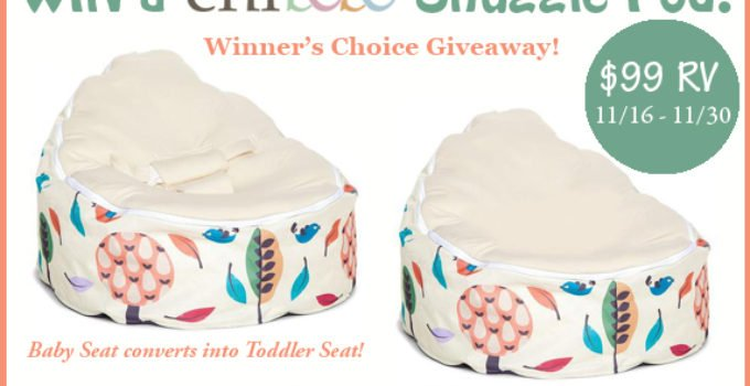 Chibebe Snuggle Pod giveaway