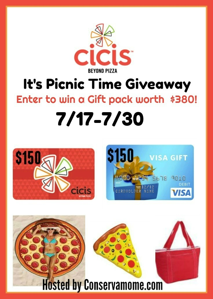 Cicis picnic fun giveaway summer 2017