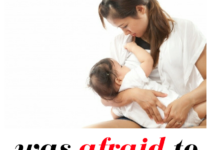 confessions from a mom afraid of breastfeeding again