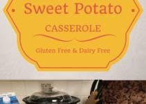 gluten free dairy free sweet potato casserole recipe