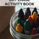 DIY dry erase activity book - educate and entertain the kids with a fun dry erase activity book they can use over and over again   www.sahmplus.com