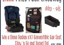 enter to win a Diono Prize Pack