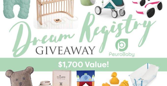 PeuroBaby.com dream baby registry giveaway - win top baby registry essentials for your dream baby registry! | www.sahmplus.com