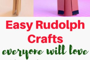 Over 20 easy Rudolph crafts for just about everyone in the family to choose from and make. These Christmas reindeer crafts aren't just for the kids!   www.sahmplus.com