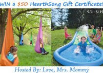 HearthSong gift card giveaway hosted by Love Mrs Mommy via www.sahmplus.com