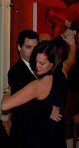 Monika ballroom dancing close up