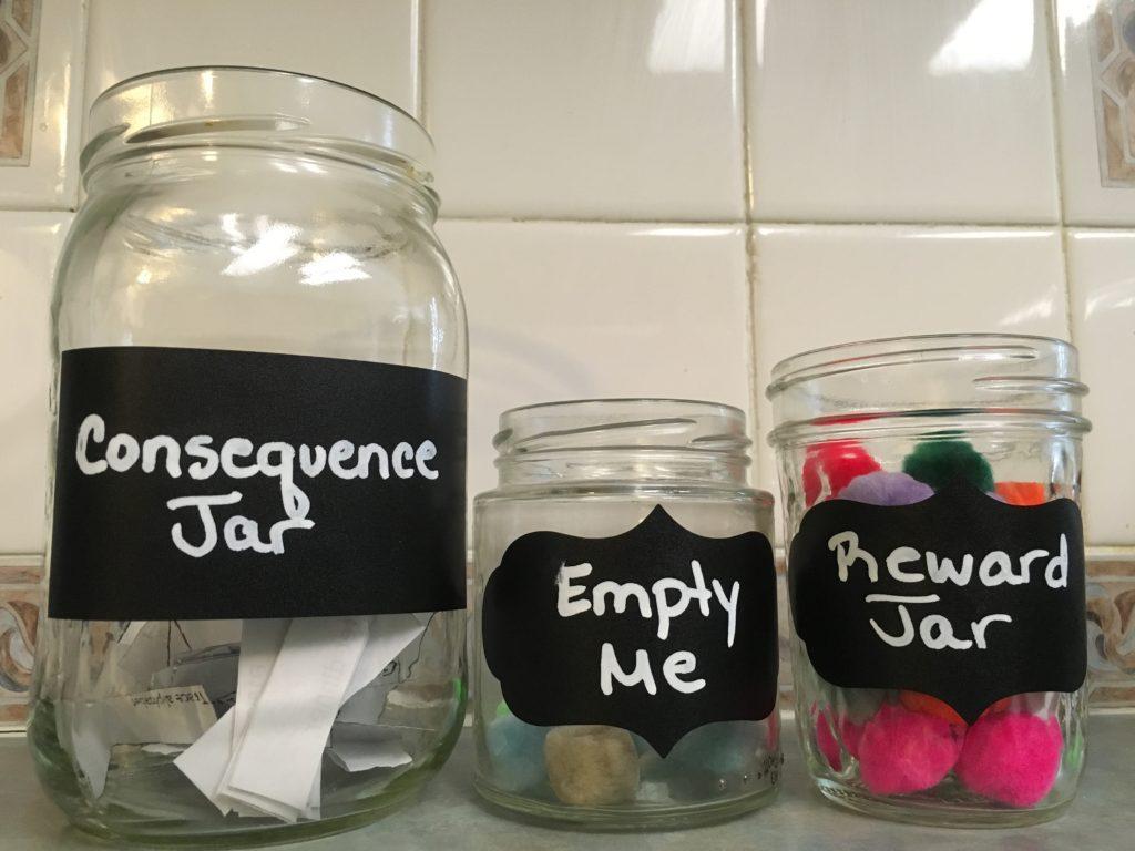 improve behavior consequence reward jars