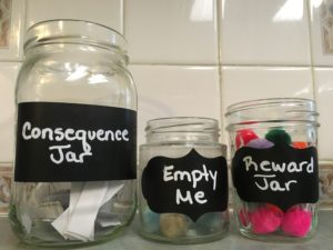 Consequence Reward Jar System