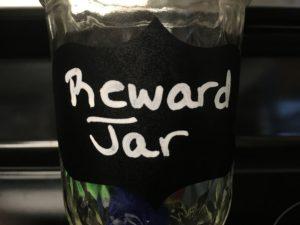 child behavior reward jar