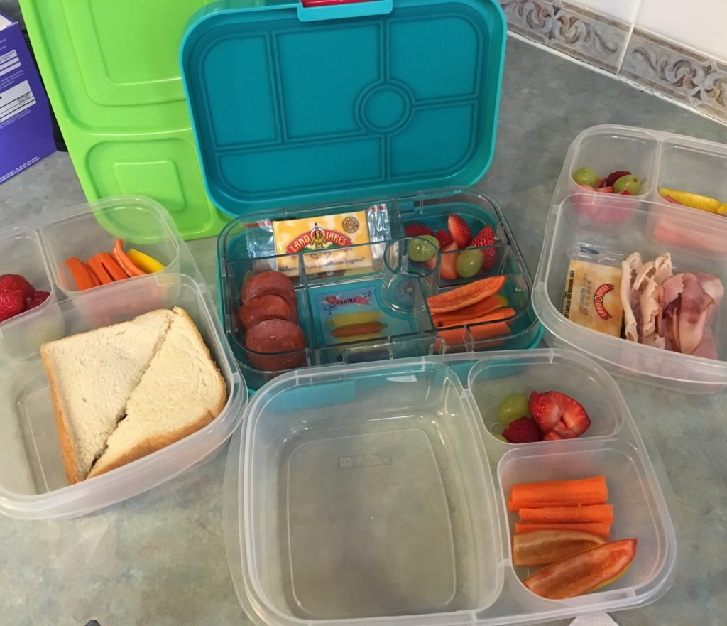 school morning rush lunch prep