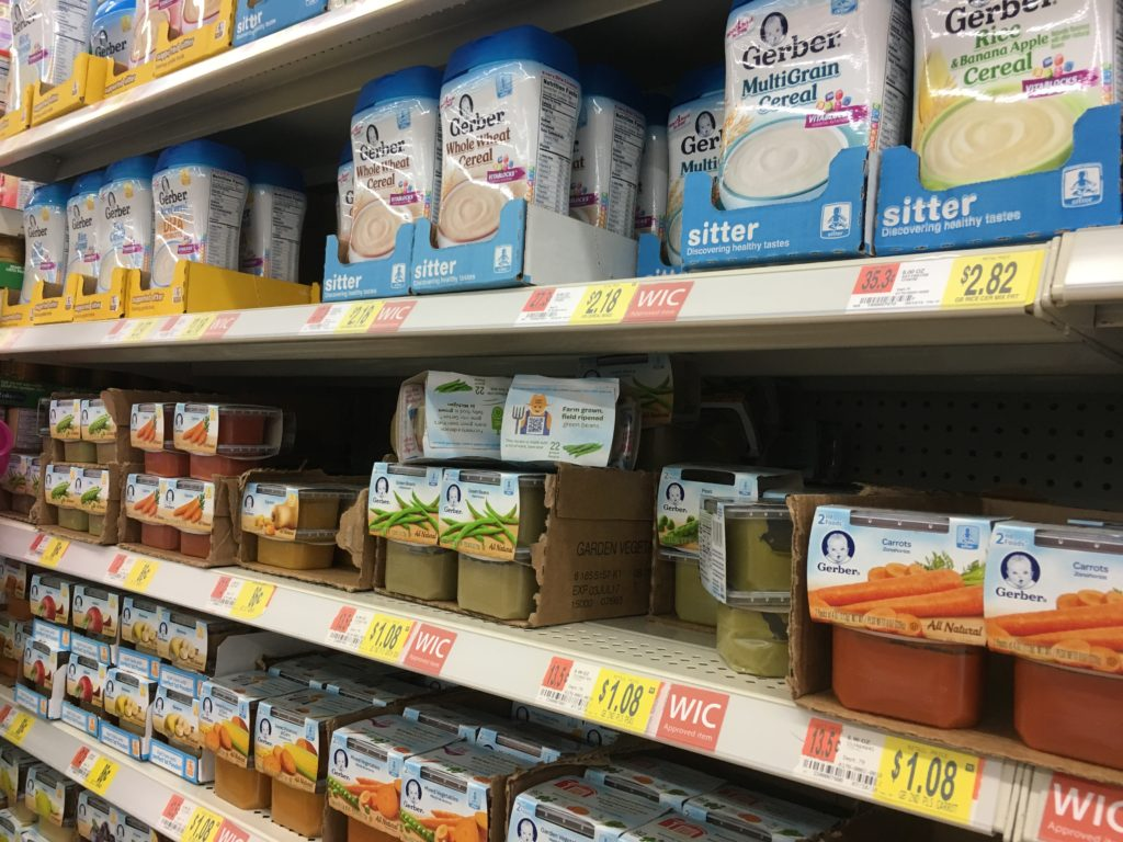 GERBER CEREALS at Walmart