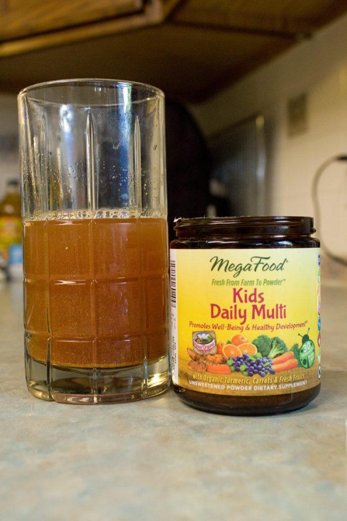 MegaFood child vitamins in juice