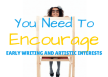 4 tools to have at home for early writing and artistic interest