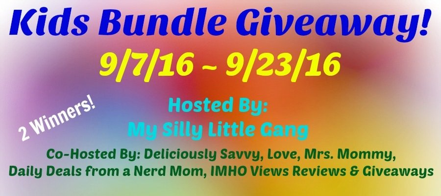 kids bundle giveaway ends 092316