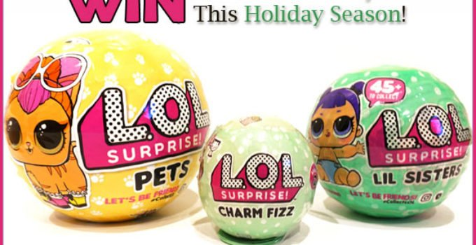L.O.L. Surprise! Prize Pack Giveaway! ends Dec 4, 2017