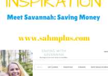 Savannah's mom hobby is saving money