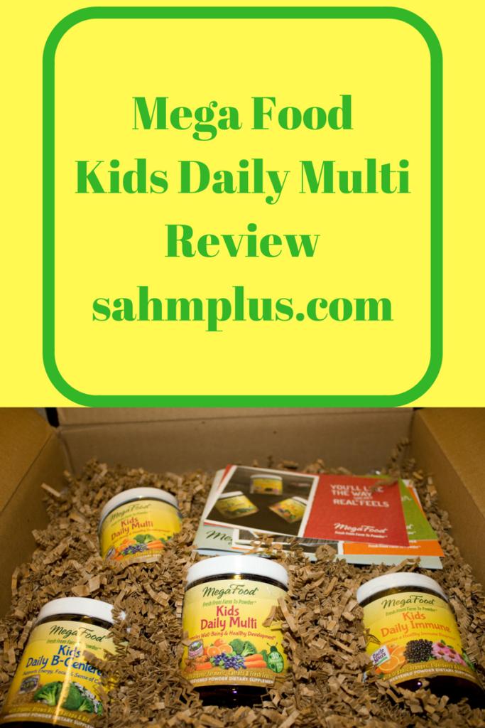 MegaFood child vitamins review #megafoodies from sahmplus.com