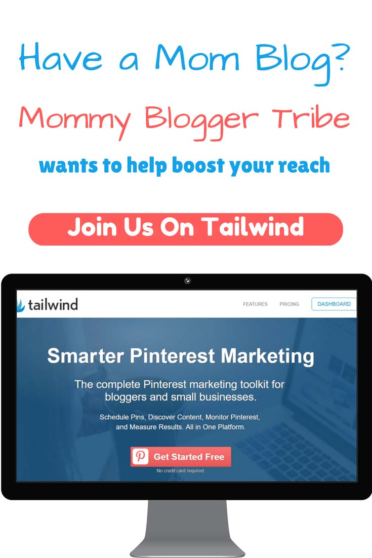 Mommy Blogger Tribe tailwind invitation