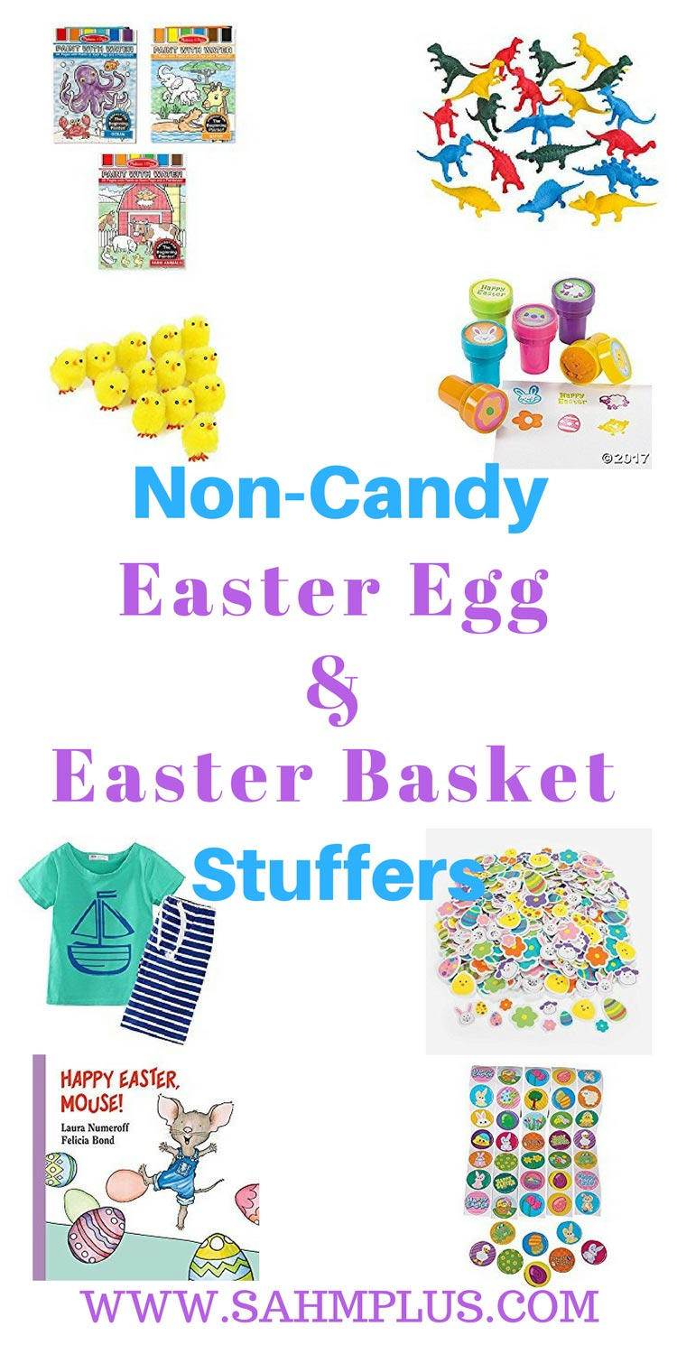 Non-candy Easter egg and Easter basket fillers