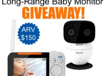 panasonic long-range baby monitor giveaway image