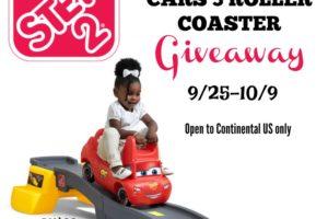 Step2 Disney Pixar Cars 3 Roller Coaster Giveaway ends Oct 9 2017