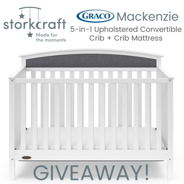 Storkcraft Graco Crib Giveaway image