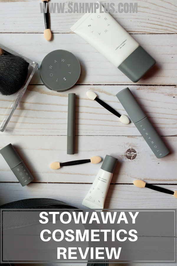 Stowaway Cosmetics Review - Busy Mom's must have mini makeup products for travel and at home | sahmplus.com