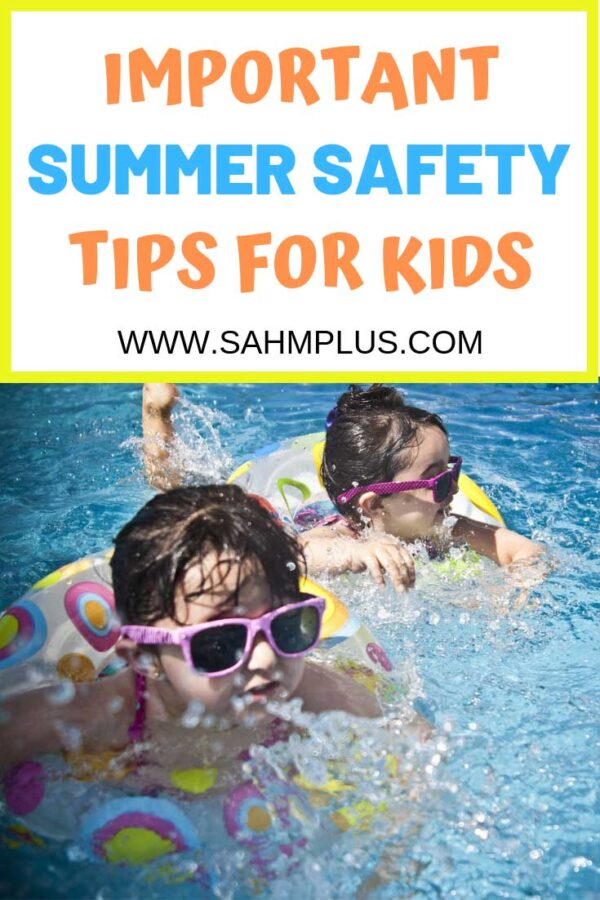 Tips for Summer Safety for Kids!  Learn how to keep your children safe and healthy this summer