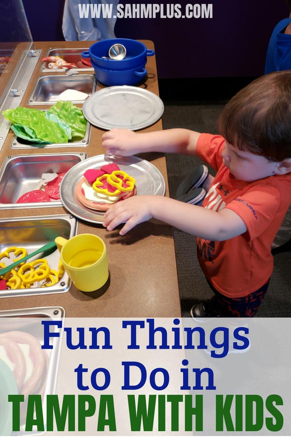 Fun things to do in Tampa with Kids. These activities for children will make for a great time on Family Travel in Tampa Florida | sahmplus.com