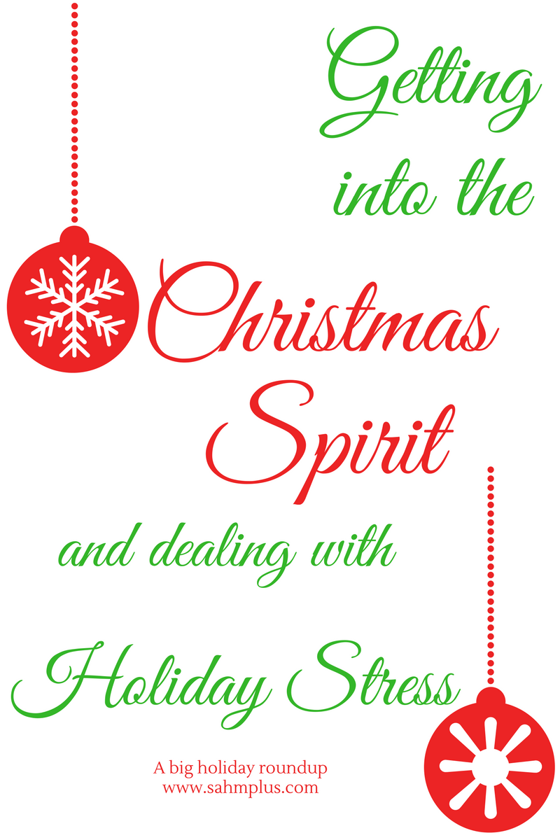Christmas spirit and stress holiday roundup
