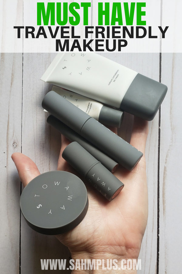 Stowaway Cosmetics are the must have mini travel makeup essentials for the mom who wants a complete look on the go | sahmplus.com