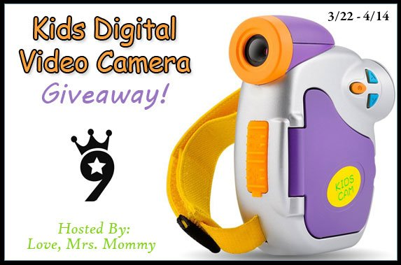 Kids Powpro Digital Video Camera Giveaway