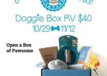 Truly Pawsome doggie box giveaway