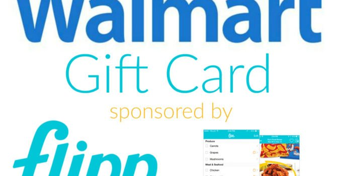 Walmart Gift Card Giveaway sponsored by Flipp | www.sahmplus.com