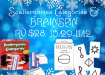 Winning Moves Scattergories Categories & BRAINSPIN ends Nov 12