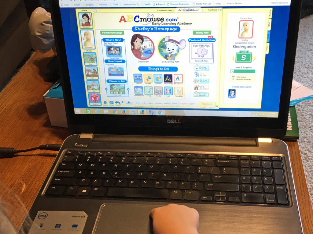 abcmouse homepage review and giveaway