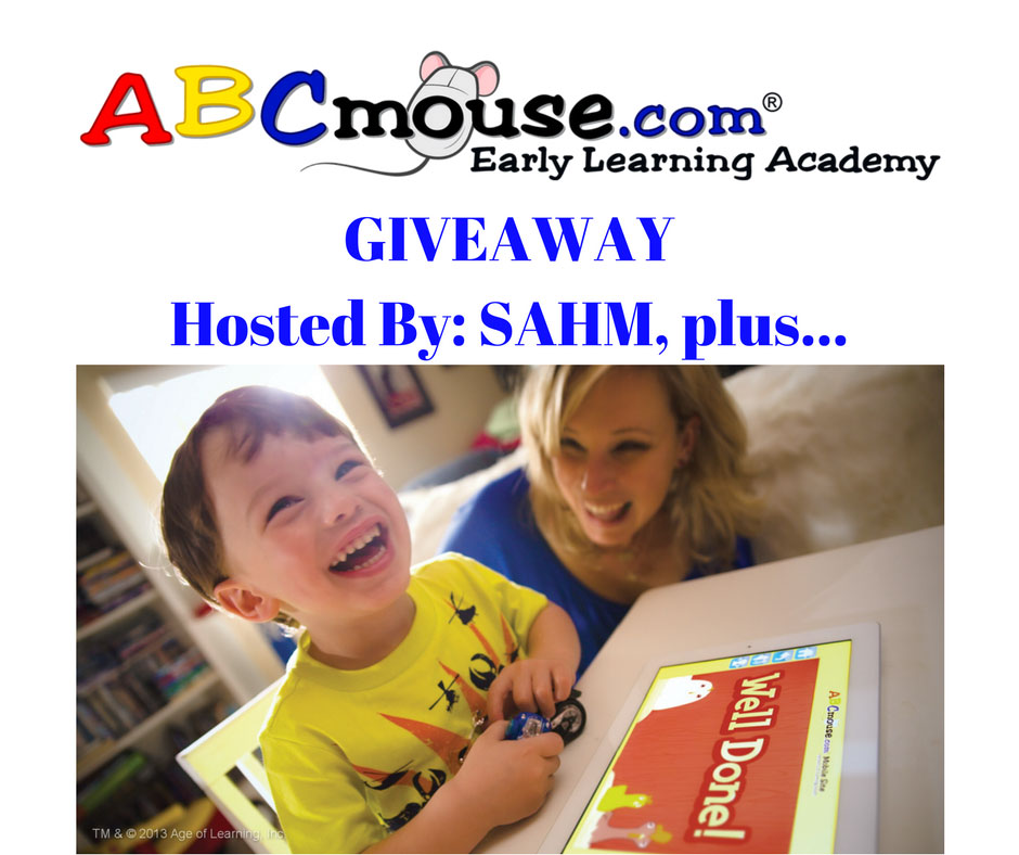 ABCmouse giveaway hosted by SAHM plus