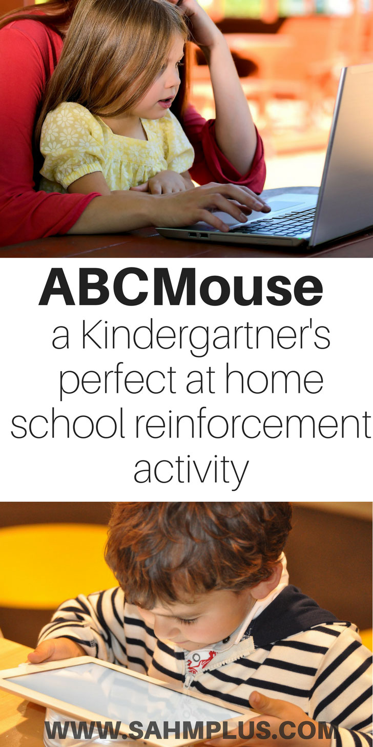 Kindergarten education reinforcement can be done easily at home with ABCmouse | www.sahmplus.com