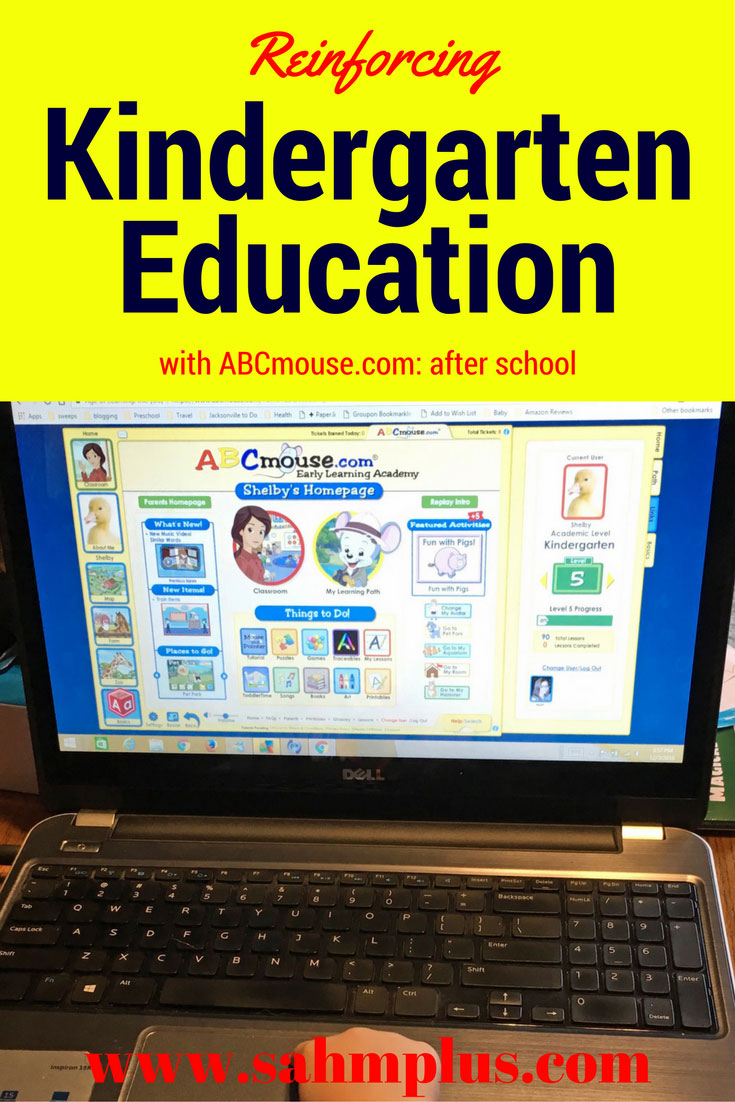 How we use ABCmouse to reinforce Kindergarten education
